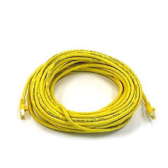 50 ft. Yellow High Quality Cat6 550MHz UTP RJ45 Ethernet Bare Copper Network Cable