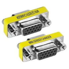 DB15 - HD 15-Pin VGA / SVGA Gender Changer Adapter F-F