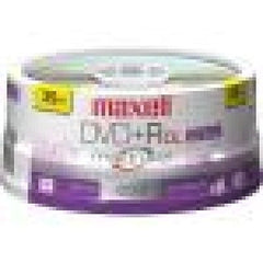 Maxell 16x DVD+R Media 4.7GB - 25 Pack Spindle