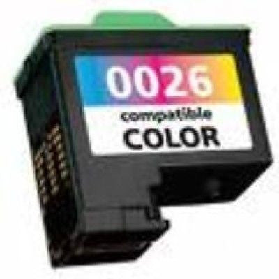 Compatible with Lexmark #26 Remanufactured Color Ink Cartridge (10N0026), Ink Cartridges, n/a - TiGuyCo Plus