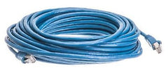 50 ft. CAT6a Shielded (10 GIG) STP Network Cable w/Metal Connect. - Blue