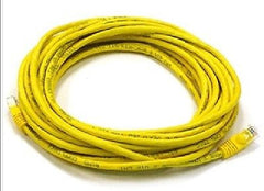 15 ft. Yellow High Quality Cat6 550MHz UTP RJ45 Ethernet Bare Copper Net Cable