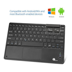 Ultra-Slim Wireless Bluetooth QWERTY Keyboard for Android and Windows