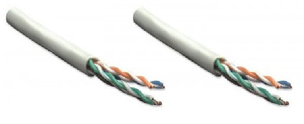 250 ft. Gray Intellinet Cat5e Bulk Cable - Stranded, 24 AWG, UTP, CM Rated, Easy-Pull Box, Ethernet Cables (RJ-45, 8P8C), INTELLINET NETWORK SOLUTIONS - TiGuyCo Plus