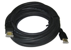 25 ft. TW High-Quality HDMI Male to Male Cable -v1.4 Ethernet, HD, 3D Ready and CL2 Rated - Black