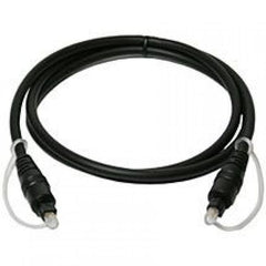 30 ft. Optical Toslink 5.0mm OD Audio Cable - Black