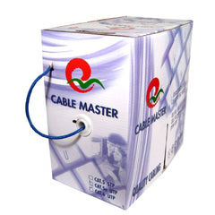 500 ft. Blue Stranded CAT5e (350MHz) Network Cable - FT4-CMG