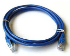 6 ft. Blue Cat7 600MHz Screened Shielded Twisted Pair (S/STP) Network Cable with Metal Connectors