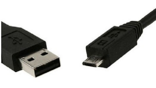 6 ft. USB 2.0 - Type A to Micro USB Type B Cable - Micro 5-pin - Black, Cables & Adapters, Various - TiGuyCo Plus