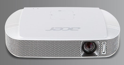 ACER C205 Portable LED Battery Powered Projector  - FWVGA (854 x 480) Contrast-1000:1, Lumens-200 Standard/160 Economy, Lamp Life-20,000 Standard/30,000 Economy - MR.JH911.009, Projectors, Acer - TiGuyCo Plus