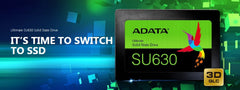 "ADATA 480GB Ultimate Solid State Drive - 2.5"" SATA 6Gb/s - SU630 - ASU630SS-480GQ"