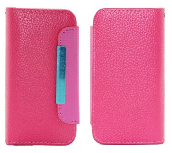 AOKO Wallet Case - iPhone 4-4S - Pink, Cases, Covers & Skins, AOKO - TiGuyCo Plus