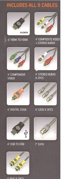 Acoustic Research Speedpass Connection Kit 9 Different