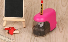 Automatic Electric Pencil Sharpener - Red