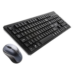 BlueDiamond - CONNECT FREEDOM - Wireless Keyboard and Mouse Combo - French - Black - 37392