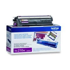 Brother TN-210M Magenta OEM Toner Cartridge - Retail Packaging