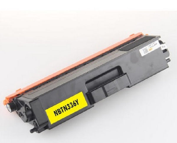 Brother TN-336Y Yellow New Compatible Toner Cartridge (High Yield), Toner Cartridges, TiGuyCo Plus - TiGuyCo Plus