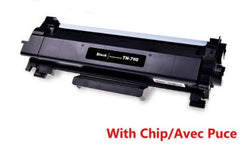 Compatible with Brother TN-760 New Compatible Black Toner Cartridge with Chip