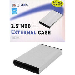 "*** $ave 25% *** 2.5"" USB 2.0 Aluminum HDD External Case"