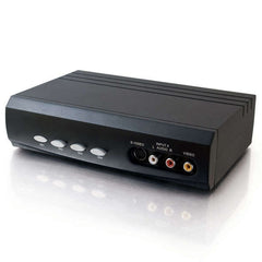 !!! A New Addition !!! C2G 4x2 S-Video + Composite Video + Stereo Audio Selector Switch - 4 Input and 2 Output - 28750