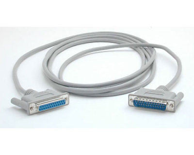 Startech 10 ft. Cross Wired Serial/Null Cable DB25 M/F – TiGuyCo Plus
