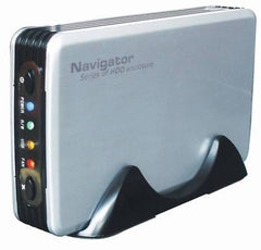"Navigator  MDT-3510 - USB 2.0 - 3.5"" Portable HDD Enclosure OTB - One Touch Backup"