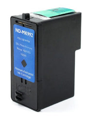 Compatible with DELL MK992-MK993 Remanufactured Ink Cartridge Combo - High Yield - Black and Color - 2 Cartridges