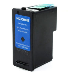 Compatible with DELL CH883-CH884 Remanufactured Ink Cartridge Combo - High Yield - Black and Color - 2 Cartridges - CH883-CH884