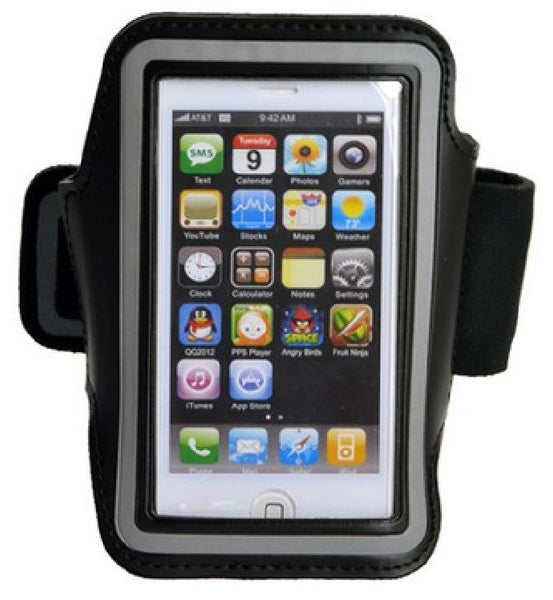 Deluxe Arm Band for iPhone 5, 5S, 5C - Slot for Keys - Perfect for Jogging, Armbands, TiGuyCo Plus - TiGuyCo Plus