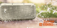 Divoom VOOMBOX-PARTY 2nd Generation - Bluetooth 4.1 - Rugged 30W - 360 Degree True Surround Sound Wireless Stereo Speaker - Slate Gold