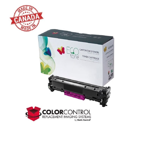 Ecotone - HP 125A (CB543A) Magenta Remanufactured Toner Cartridge - 1.4K