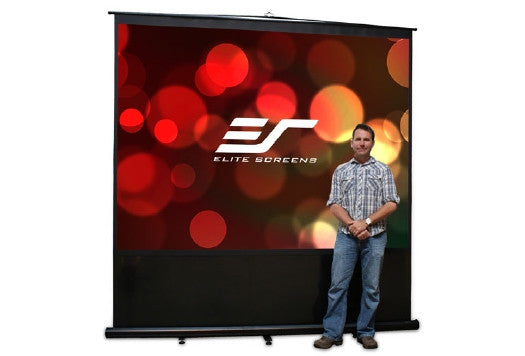 !!! A !!! Elite Screens Reflexion 100in. - 4 3 - Manual Projection Screen - Floor Mount - FM100V
