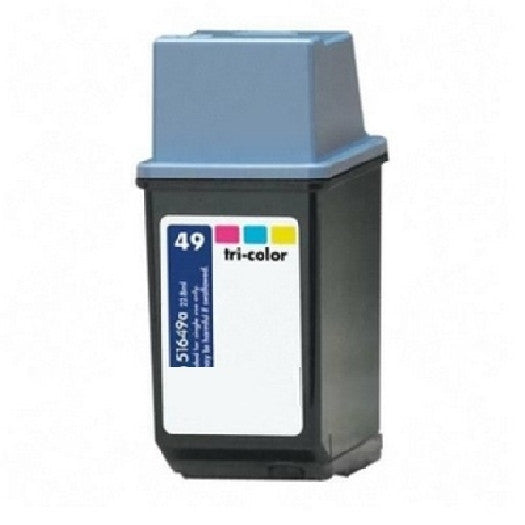Compatible with HP 49 Tri-Color (51649A) Remanufactured Ink Cartridge, Ink Cartridges, Various - TiGuyCo Plus
