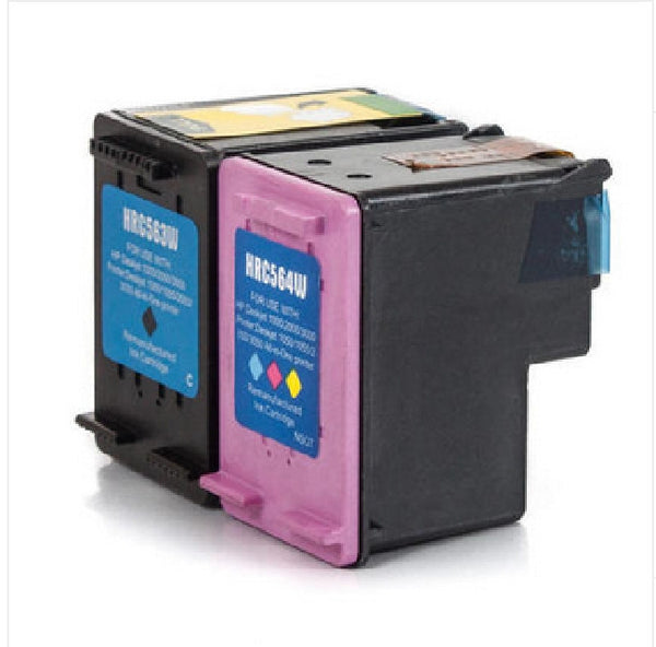 HP 61XL Black (CH563WN) and HP 61XL Tri-Color (CH564WN) Remanufactured Ink Cartridge Combo Pack, Ink Cartridges, TiGuyCo Plus - TiGuyCo Plus