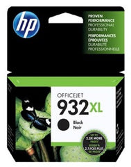 HP 932XL Black OEM Ink Cartridge - Retail Box