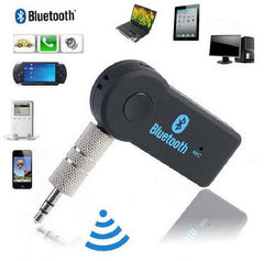 HiFi Bluetooth Music Receiver Dongle - Built-in Rechargeable Li-Ion Battery via USB - Home, Car, Work - Enjoy