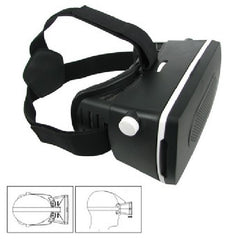 Hipstreet VR Gear 3D Virtual Reality Headset for Smartphones - 5571176 - 01VRH