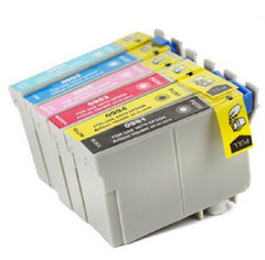 Compatible with Epson T098-99 BK-C-M-Y-LC-LM New Compatible Ink Cartridges Combo Pack