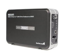 INFOSafe 3.5in USB 2.0 to Dual SATA Hard Drive Enclosure with RAID