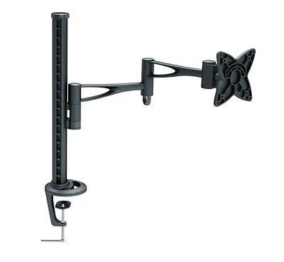 "TC - 10"" to 24"" Desk Monitor Mount - Tilt - Up to 33lbs / 15kgs - Black, Monitor Mounts & Stands, n/a - TiGuyCo Plus"