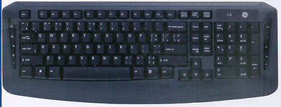 GE Wireless 2.4 Ghz Bilingual Keyboard and Optical Mouse (20603), Keyboard & Mouse Bundles, GE - TiGuyCo Plus