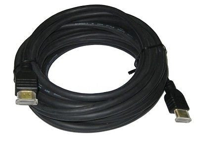 50 ft. TW High-Quality HDMI Male to Male Cable - v1.4 -Ethernet, HD, 3D Ready and CL2 Rated - Black, Video Cables & Interconnects, TygerWire - TiGuyCo Plus