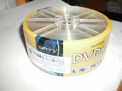 gfm Recordable DVD+R - 16x, 4.7GB, 120min. - 25pk