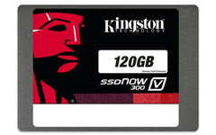 Kingston 120GB SSDNow V300 Solid-State Drive - 2.5in. SATA - 450 MB/s Maximum Read Write Transfer Rate - SV300S37A/120G