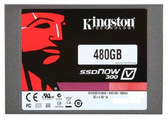 Kingston 480GB SSDNow V300 Solid-State Drive - 2.5in. SATA - 6GB/s - SV300S37A.480G