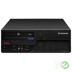 Lenovo ThinkCenter M58 SFF - Core 2 Duo E8400, 4GB, 320GB, DVD-RW, Win 7 Home Professional COA - Refurbished - MJ02624