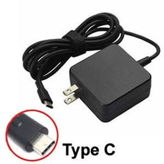 For Lenovo Type C - 45W - 20V/2.2A - 18V/2.5A - 15V/3A - 12V/3A - 9V/3A - 5V/3A Replacement Laptop AC Power Adapter