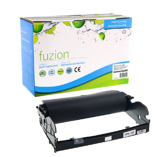 fuzion™ Premium Compatible Laser Drum for Printers Using the Lexmark E260X22G Drum Unit