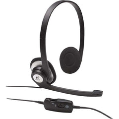 Logitech ClearChat Stereo Headset with Rotating Microphone - 3.5mm Plug - L-981-000296