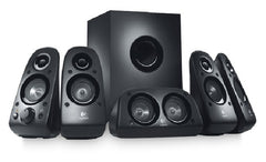 Logitech Z506 Surround Sound Speakers - RECERTIFIED 5.1 Speaker System - 75 W RMS - 45 Hz - 20 kHz - iPod Supported
